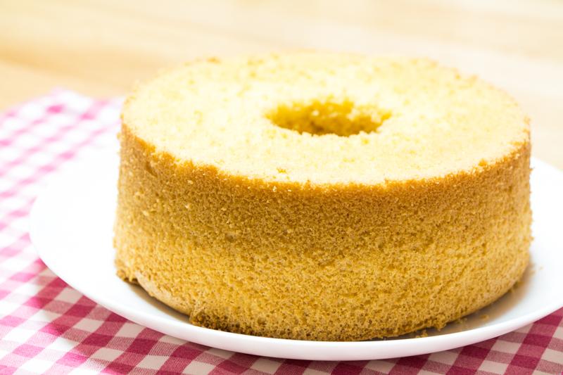 糖質制限おからシフォンケーキ作ってみた。
