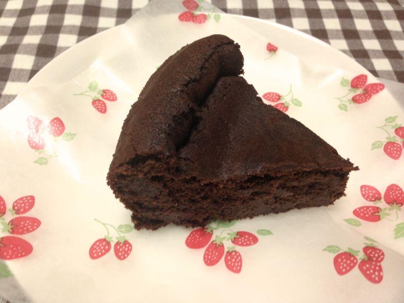 糖質オフガトーショコラ作ってみた。想像以上に美味しいよ!